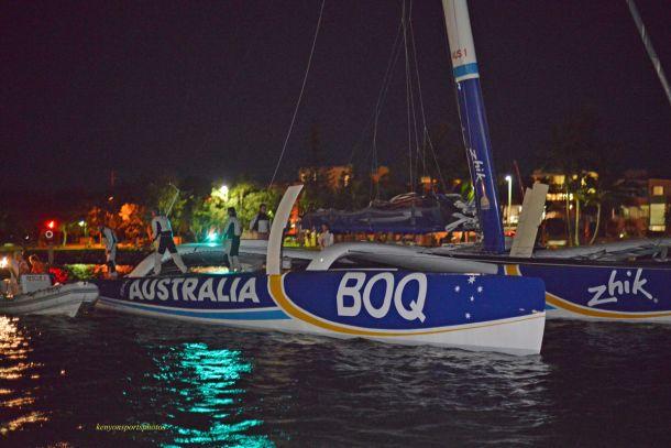 Team Australia at Mooloolaba. Photo Mike Kenyon.