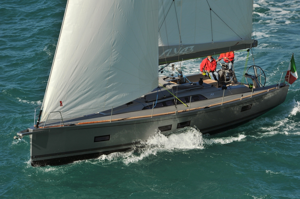 SLY 43 Australian debut at Pittwater