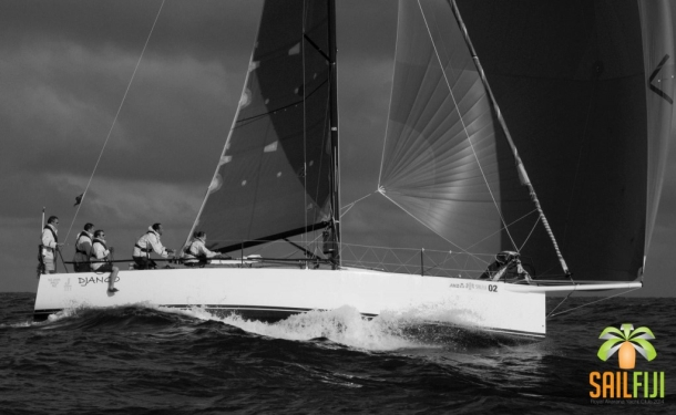 Django at the finish of Sail Fiji. Photo © Brad Davies / RAYC Media