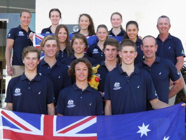 Australian Youth Sailing Team. Photo YA.