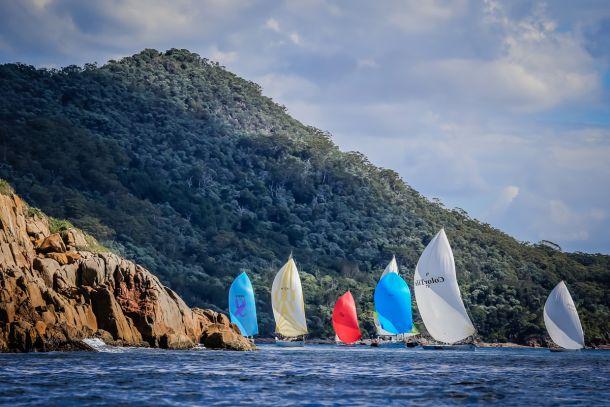 Sail Port Stephens. Photo Craig Greenhill Saltwater Images.