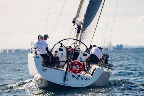 Quantum Sails Vic states - Ikon 38. Photo credit Sailing Shack Photography.