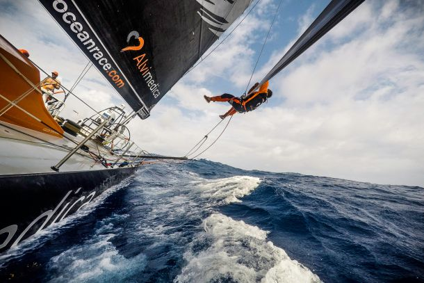 Team Alvimedica. Photo Amory Ross / Team Alvimedica / Volvo Ocean Race.