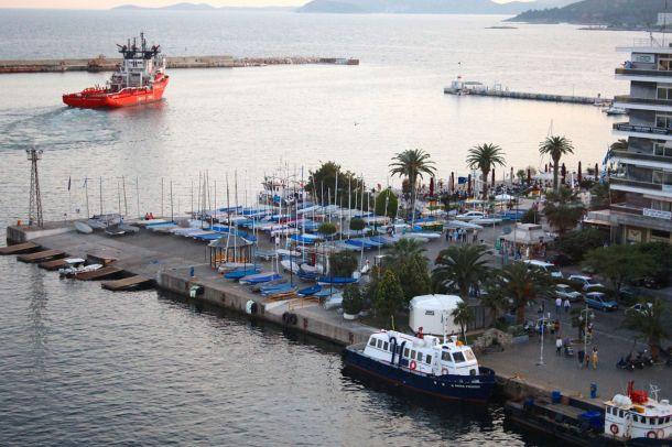 A fleet of Finns at Kavala