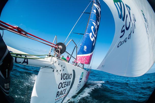 Team SCA in the Volvo Ocean Race. Photo Anna-Lena Elled / Team SCA / Volvo Ocean Race.