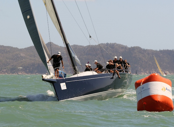 Bob Steel's previous Quest TP52 competing in the 2013 SeaLink Magnetic Island Race Week. Photo SMIRW Media.