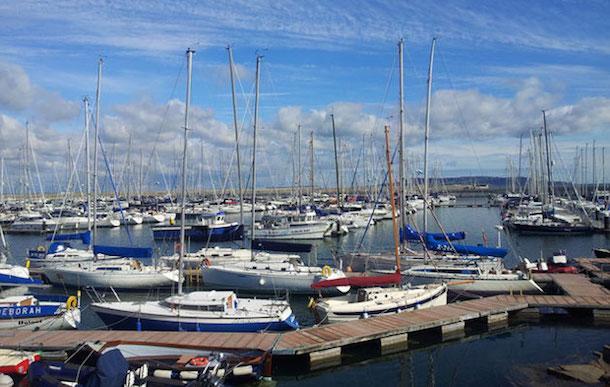 Dun Laoghaire Harbour.