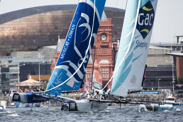 The Wave Muscat and GAC Pindar at Cardiff. Photo Lloyd Images.