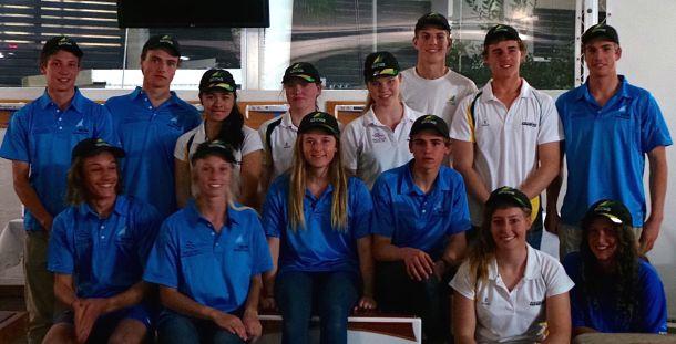 2015 Australian Sailing Youth Team. Photo YA.