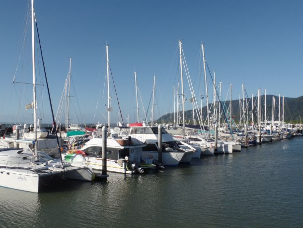 The fleet readies to leave Marlin Marina Cairns for Multihull Solutions 2015 Sail 2 Indonesia Rally.