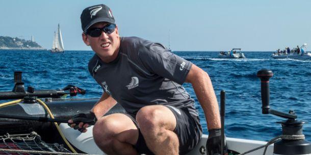Peter Burling says being named as Team NZ helmsman is an honour. Photo Chris Cameron/NZ Herald.