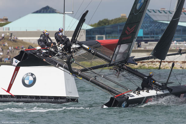 America's Cup World Series Portsmouth. Photo Gilles Martin-Raget/ACEA.