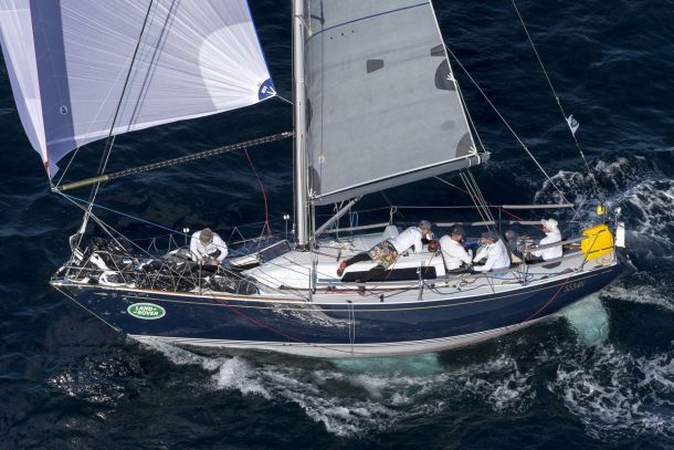 The oldest and smallest boat in the fleet Quikpoint Azzurro. Photo Andrea Francolini.