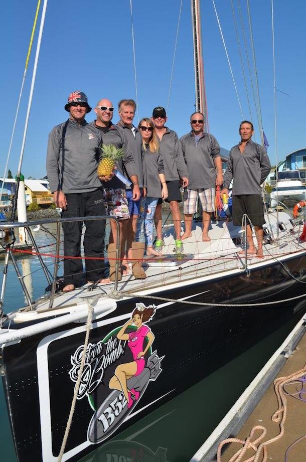 B52 crew reach Keppel Bay safely. Photo Keppel Bay Marina.