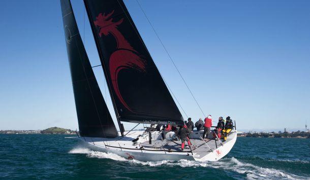 New Team Beau Geste test sail. Photo credit Doyle Sails NZ.