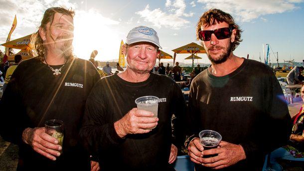Rumgutz crew last year - Scott Guyomar