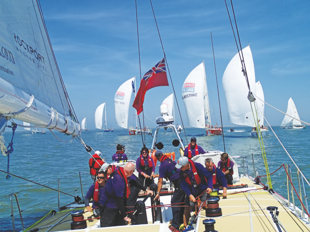 Clipper Round the World Yacht Race. Photo On Edition.