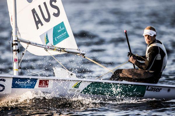 Tom Burton at Rio. Photo Pedro Martinez/Sailing Energy/ISAF