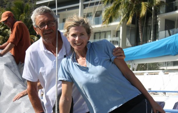 The Philosopher's Club Peter Sorensen has been joined by Tasar class sailor and daughter-in-law