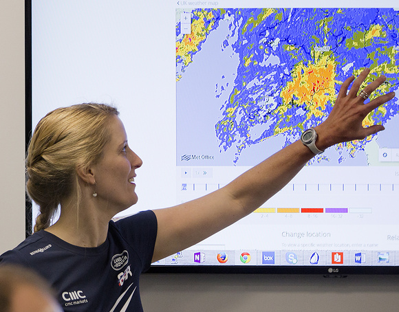BAR's Chief Meteorologist