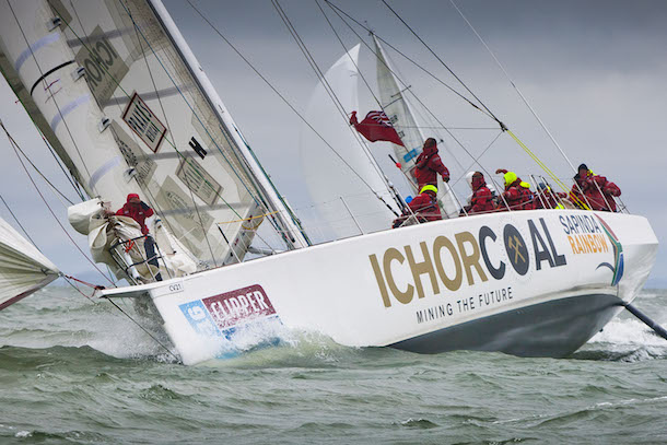 IchorCoal during the Clipper Race. Photo Clipper Ventures.