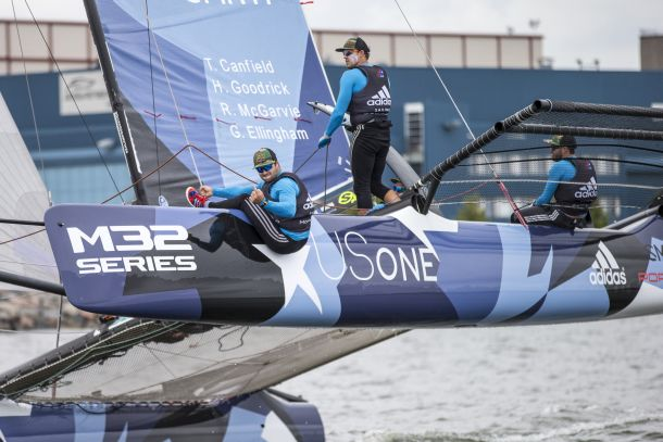 Taylor Canfield and his crew managed to sail fast and make very few mistakes. Photo © 2015 Aston Harald AB.