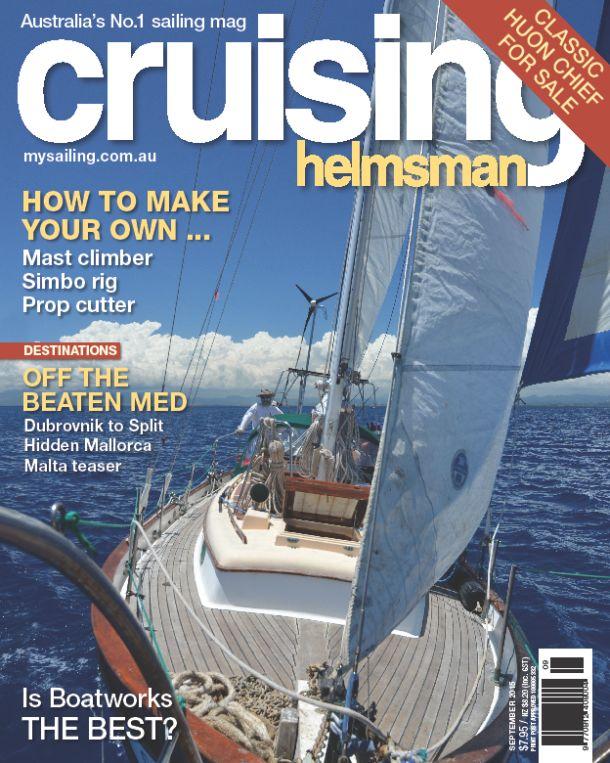 September Cruising Helmsman