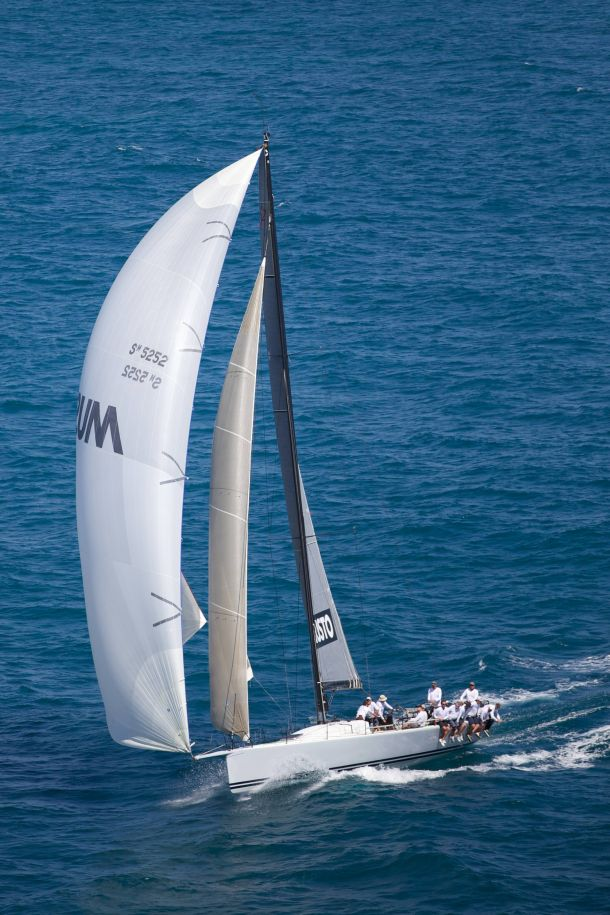 The TP52 Calm will make its debut with a new owner