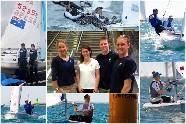 Australian Sailing Youth competitors. Photos YA.