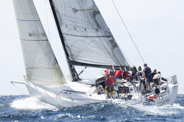 Victoire in the Flinders Islet Race. Photo David Brogan