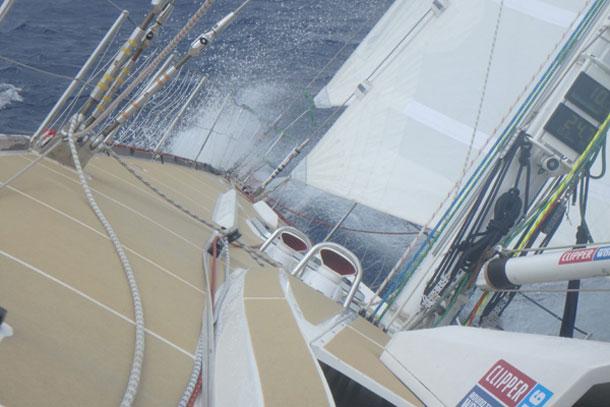 Yachts should begin finishing in Rio de Janeiro