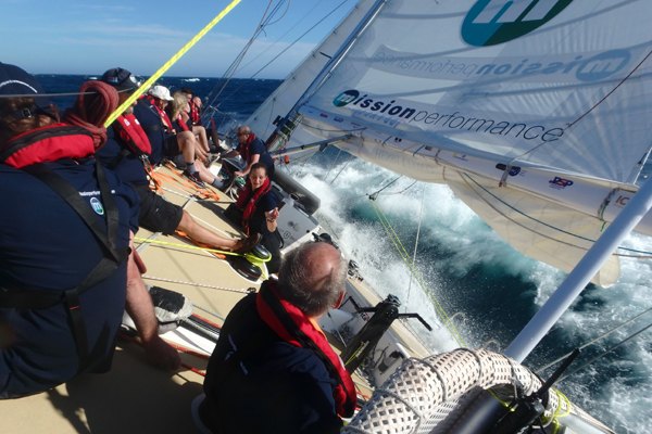 Mission Performance during the Clipper Race. Photo Clipper Ventures.