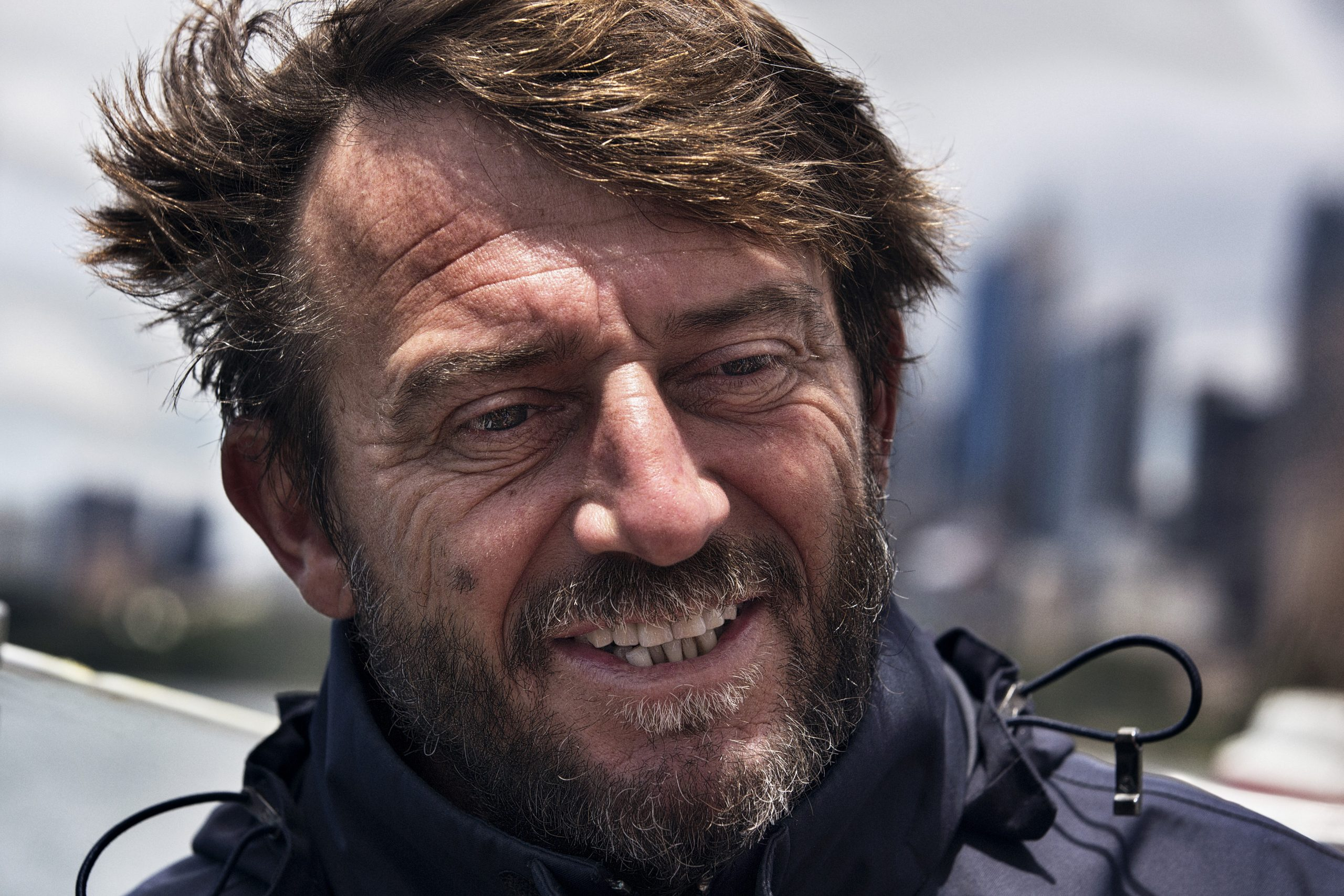 Giovanni Soldini has over 20 years experience in ocean racing and is ready to take on the Rolex Sydney Hobart Yacht Race for the first time. Photo Andrea Francolini.