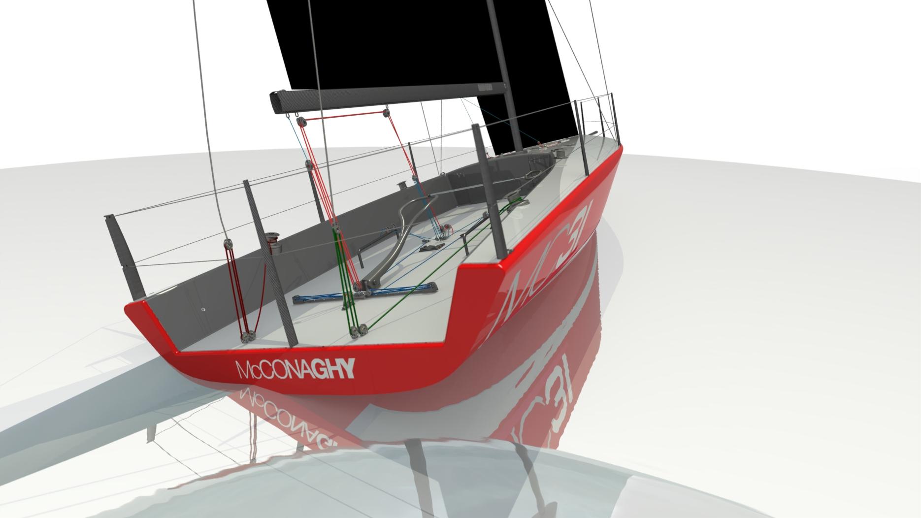 The new MC32. Image McConaghy Boats.