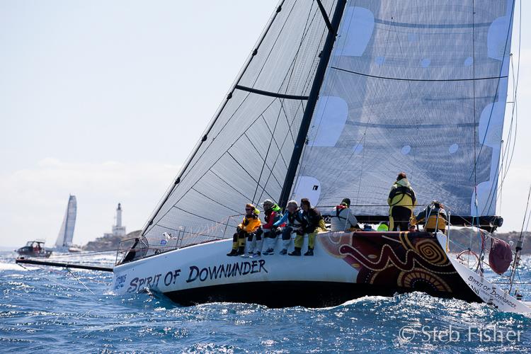 Start of the Melbourne to Tasmania races. Photo Steb Fisher.