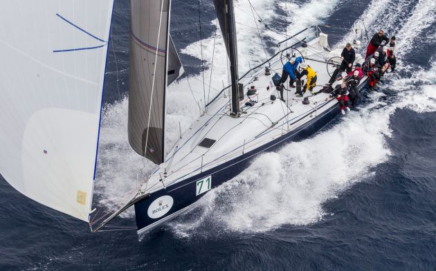 Balance is the boat to beat – Credit ROLEX