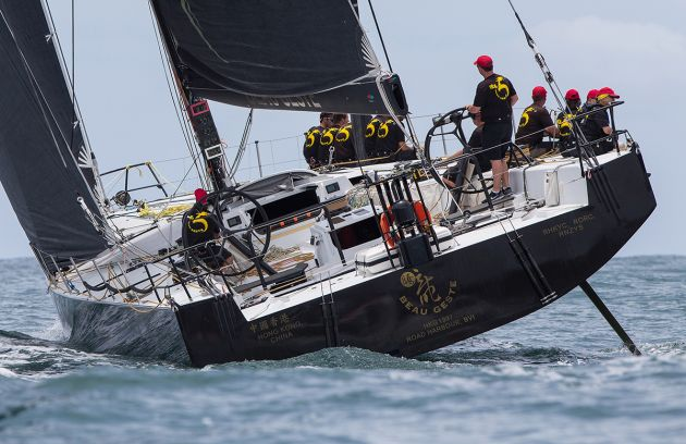 Beau Geste line honours and IRC overall. Photo credit Crosbie Lorimer.
