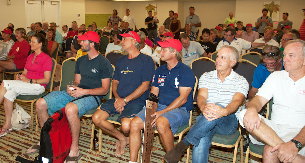 Pre-race briefing. Photo Peter Marshall/MGRBR