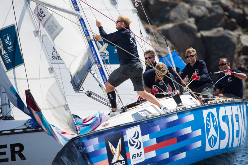 Hansen and his team defended his title at the Stena Match Cup Sweden. Photo © Robert Hajduk / WMRT.