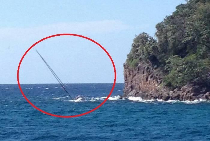 Missing yacht. Photo Phuket Marine Police.