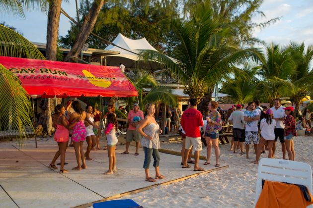 Mount Gay Rum party. Photo Peter Marshall/MGRBR.