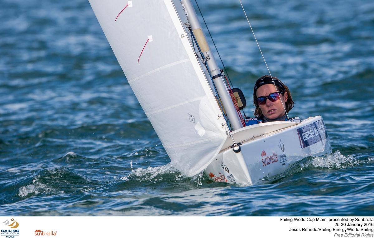 Racing at the Sailing World Cup Miami. Photo Jesus Renedo.
