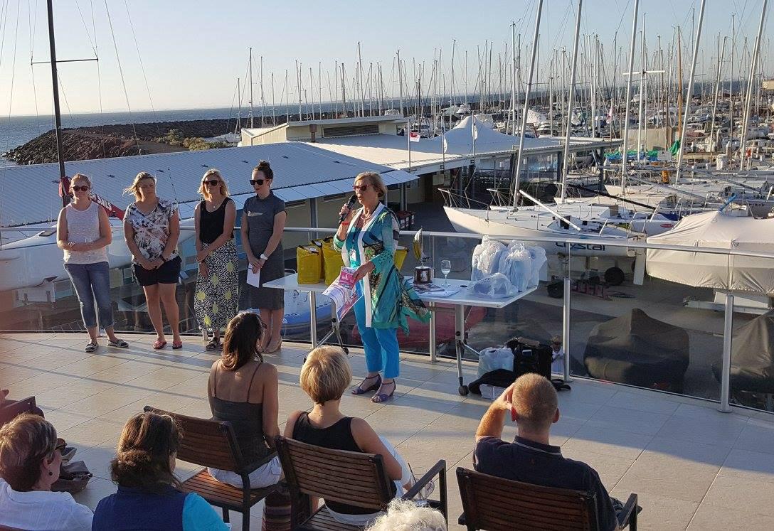 Launch of the Women in Sailing Challenge. Photo Regatta Media.