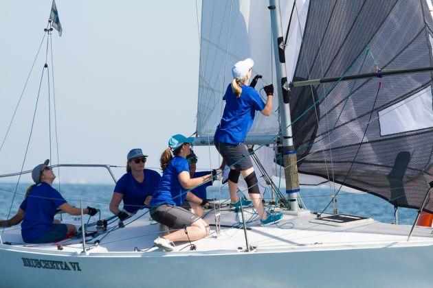 Women in Sailing Championship. Photo: Alex McKinnon Photography.