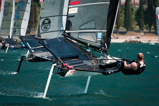 Moths figure prominently at Foiling Week. Photo Foiling Week.