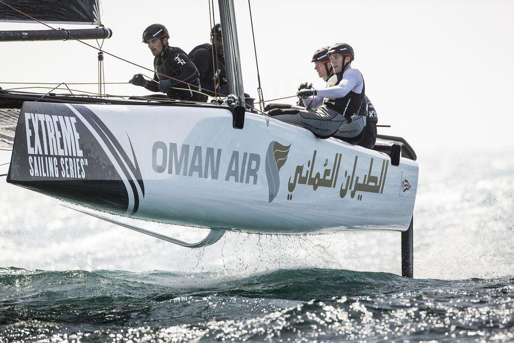 Former Series champion Morgan Larson joins Oman Air as skipper for 2016. Photo Lloyd Images.