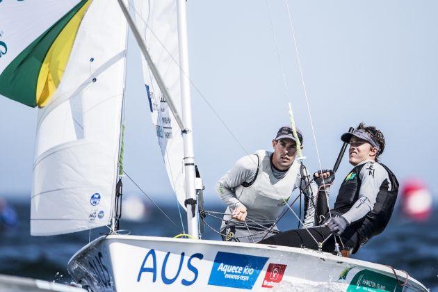 Belcher and Ryan. Photo Pedro Martinez/Sailing Energy/470