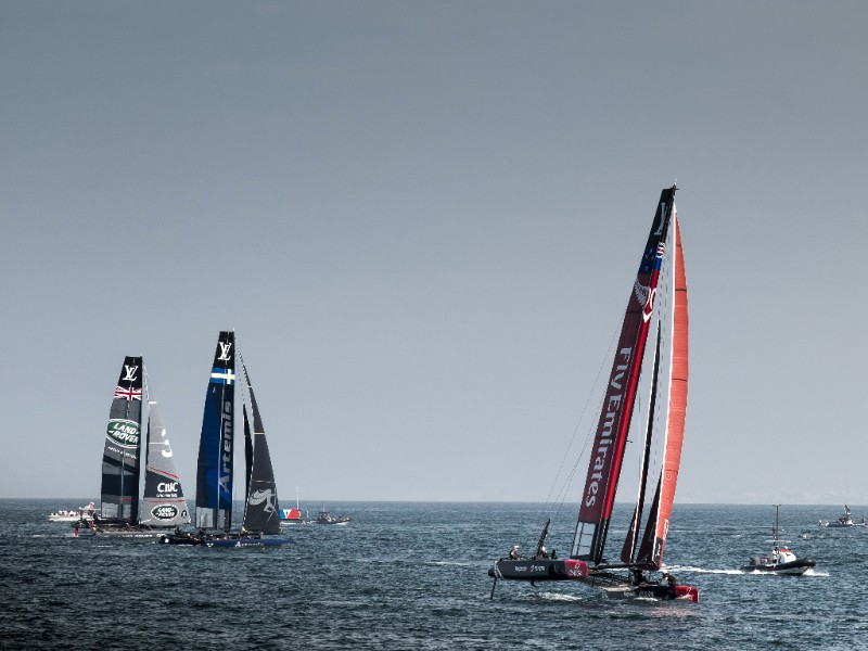 America's Cup World Series in Oman. Photo ACWS.