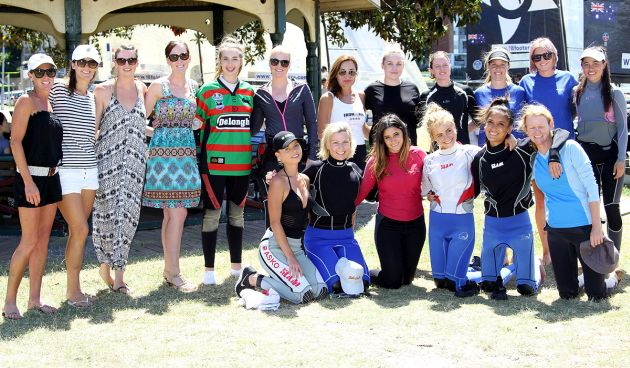 18 Footer Queens of the Harbour 2016. Photo 18 Footers League.