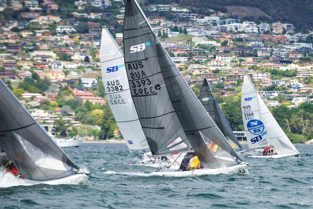 SB20 Hobart. Photo Dane Lojek.